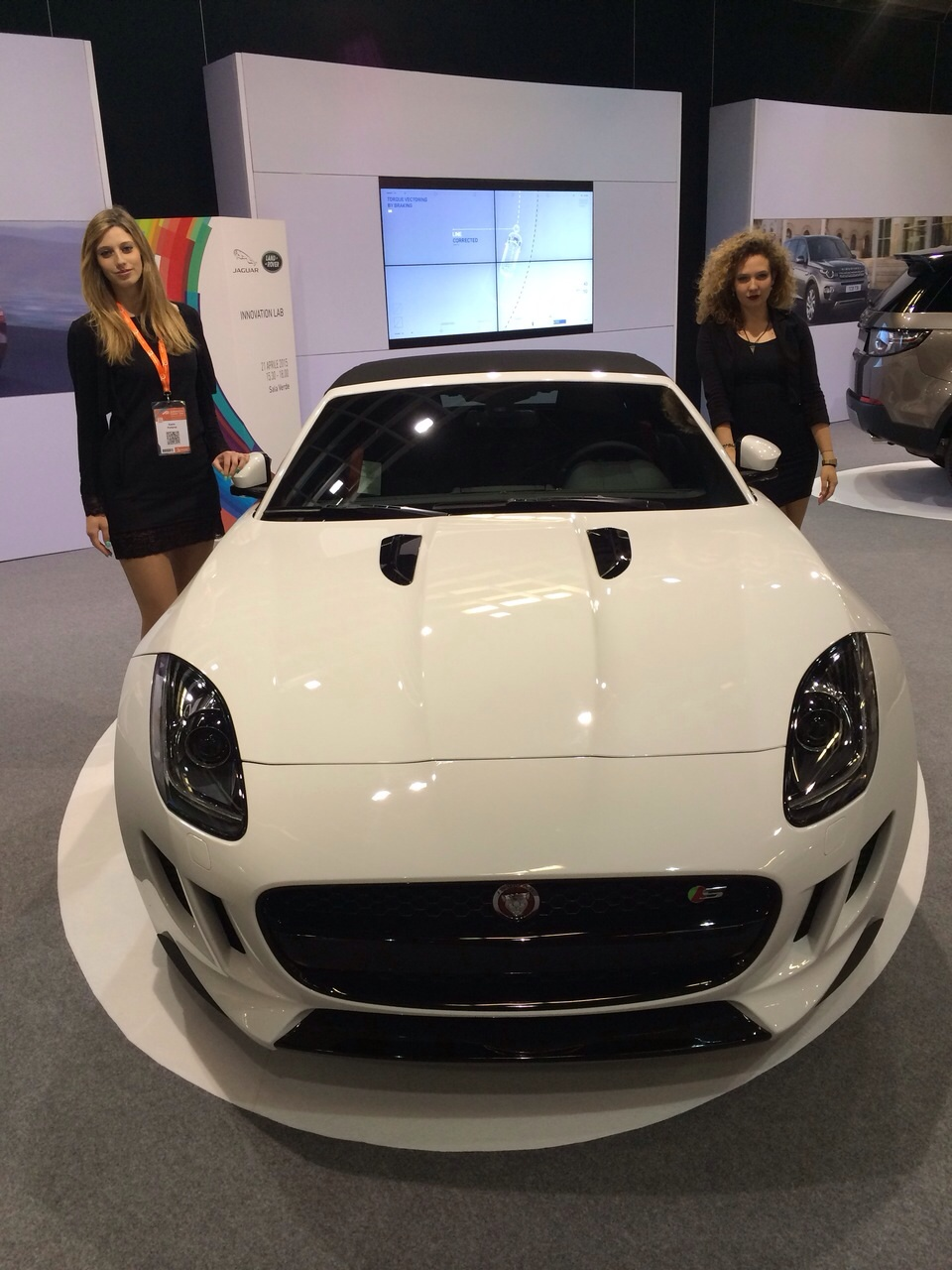 Automotive Dealer Day Hostess in Stand