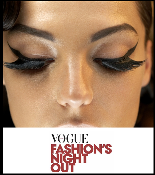 vogue fashion's night out 2015 milano